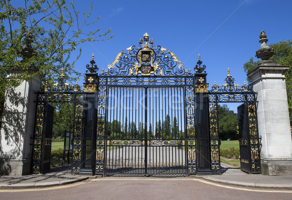 Jubilee Gates at Regents Park in London Stock photo © chrisdorney