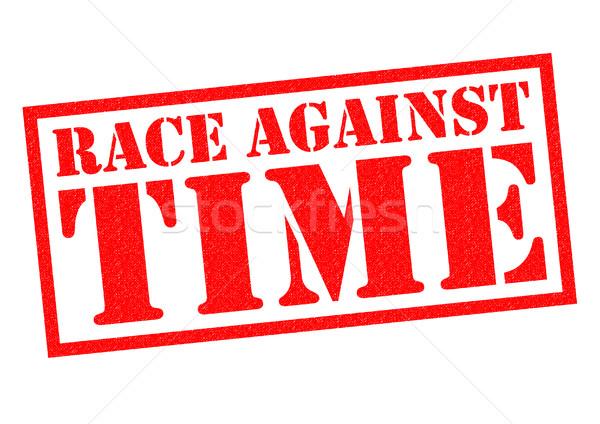 RACE AGAINST TIME Stock photo © chrisdorney