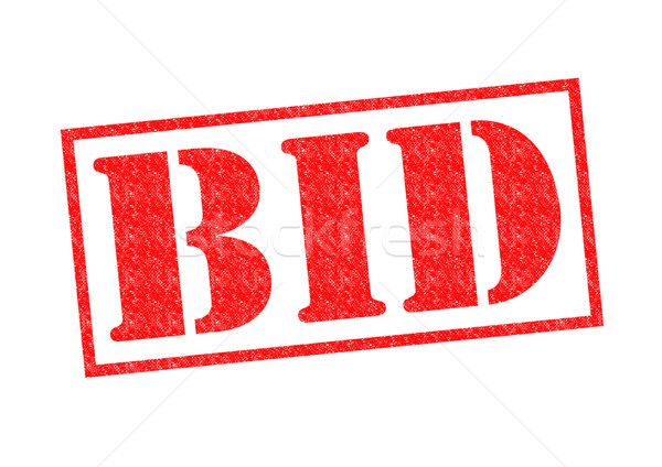 BID Rubber Stamp Stock photo © chrisdorney
