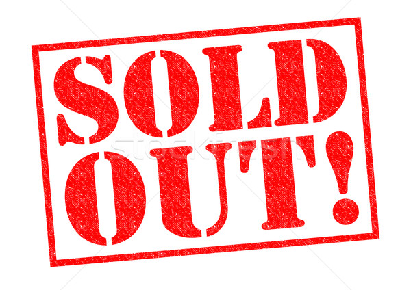 SOLD OUT! Stock photo © chrisdorney