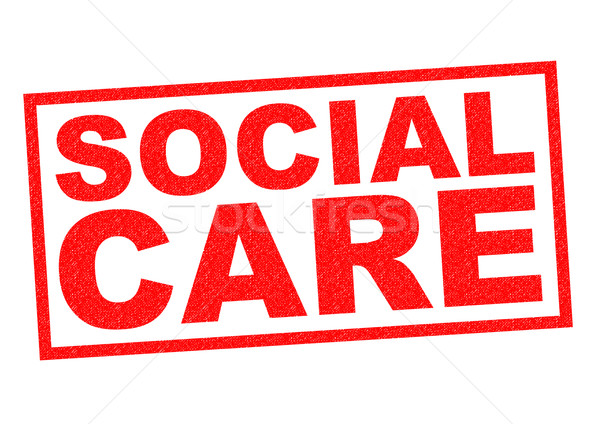 SOCIAL CARE Stock photo © chrisdorney