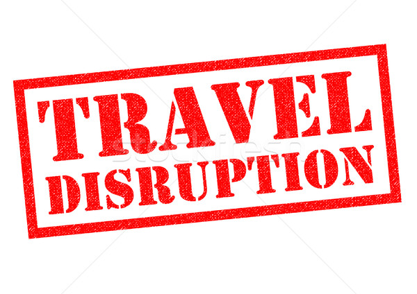 TRAVEL DISRUPTION Stock photo © chrisdorney