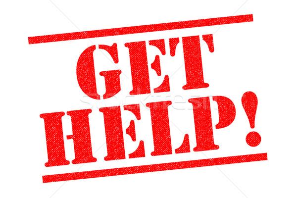 GET HELP! Stock photo © chrisdorney