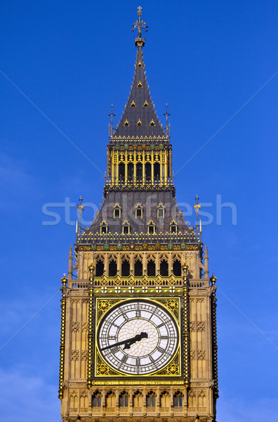 Big Ben (Houses of Parliament) in London Stock photo © chrisdorney