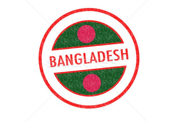 Banglades pecsét fehér ázsiai Ázsia vakáció Stock fotó © chrisdorney