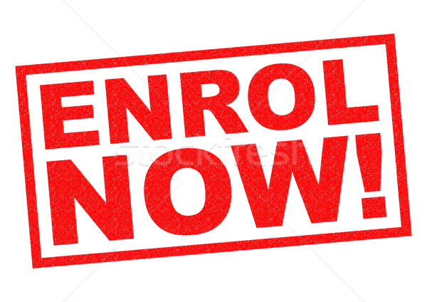 ENROL NOW! Stock photo © chrisdorney