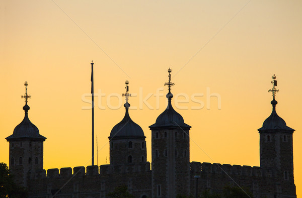 Stock photo: Tower of London Silhouette