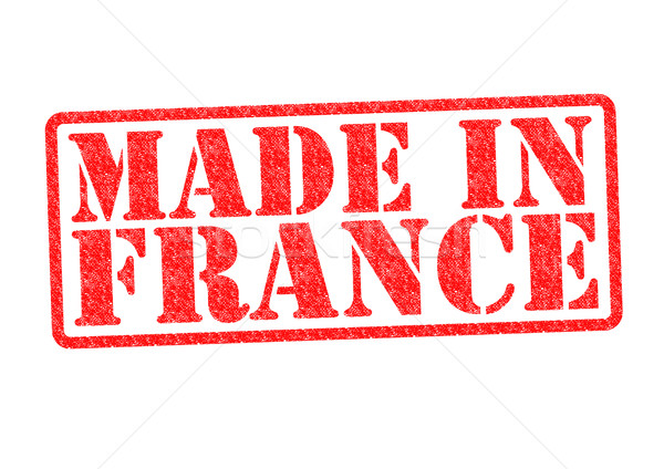 Stock photo: MADE IN FRANCE Rubber Stamp