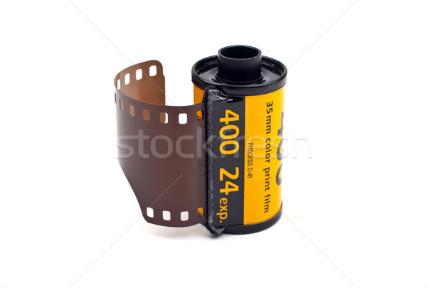 Roll of Photographic Film Stock photo © chrisdorney