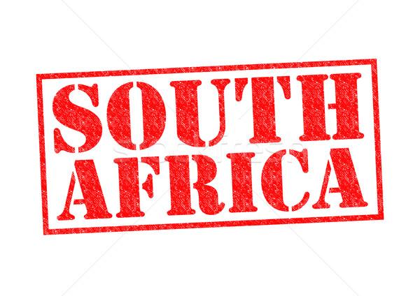 África do Sul branco África carimbo férias Foto stock © chrisdorney