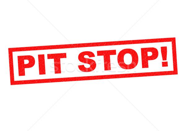 PIT STOP! Stock photo © chrisdorney