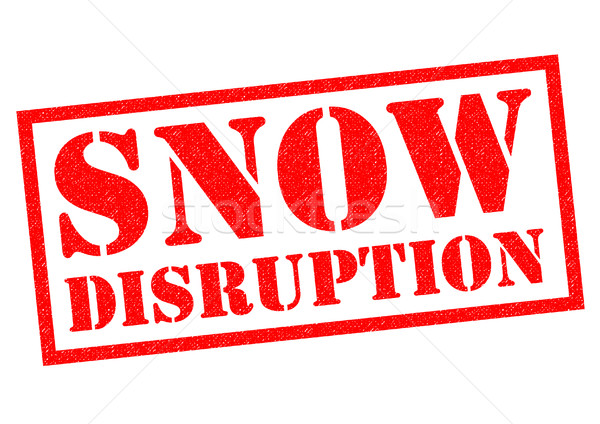 SNOW DISRUPTION Stock photo © chrisdorney