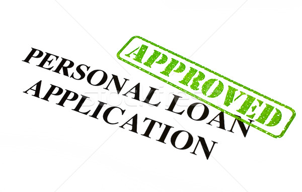 Personal Loan Application APPROVED Stock photo © chrisdorney