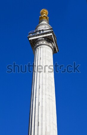 The Monument in London Stock photo © chrisdorney