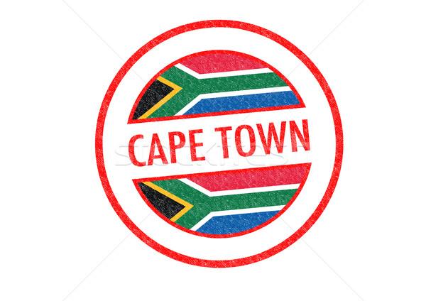 Le Cap Afrique du Sud blanche Afrique vacances Photo stock © chrisdorney