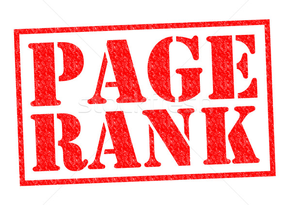 PAGE RANK Stock photo © chrisdorney