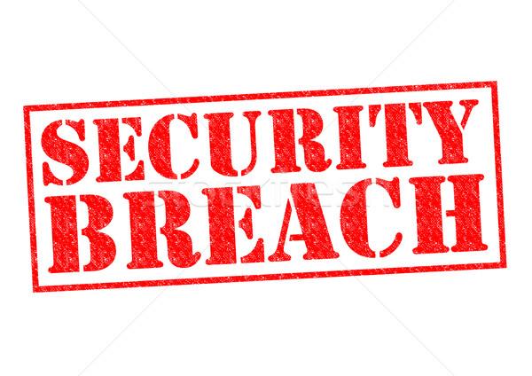 SECURITY BREACH Stock photo © chrisdorney