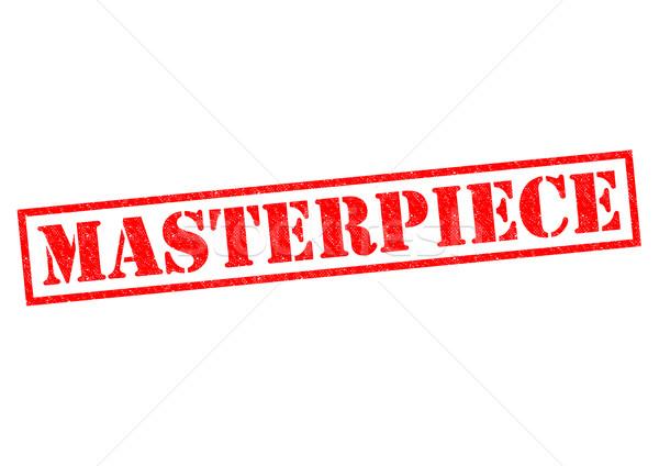 MASTERPIECE Stock photo © chrisdorney
