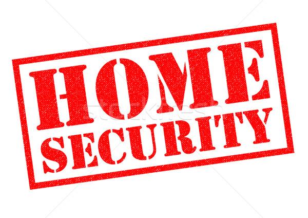 HOME SECURITY Stock photo © chrisdorney