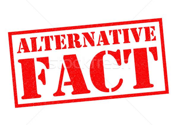 ALTERNATIVE FACT Stock photo © chrisdorney