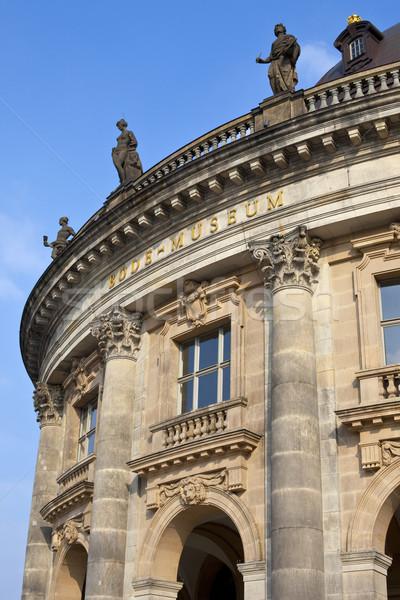 Múzeum Berlin Németország utazás építészet galéria Stock fotó © chrisdorney