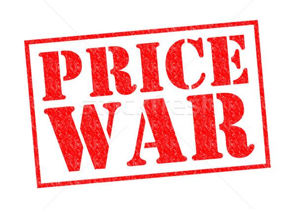 PRICE WAR Stock photo © chrisdorney