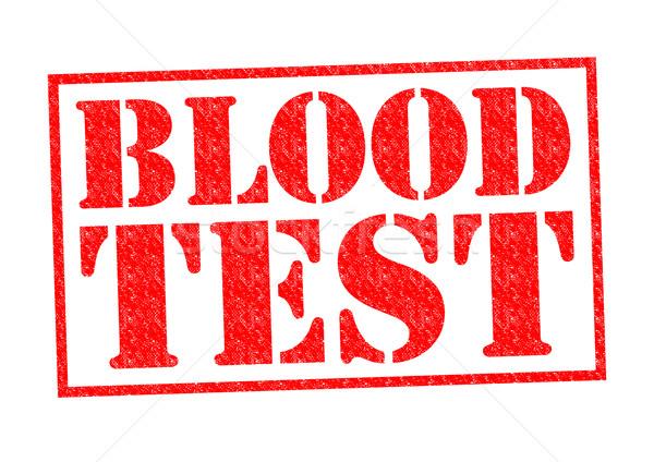 BLOOD TEST Stock photo © chrisdorney