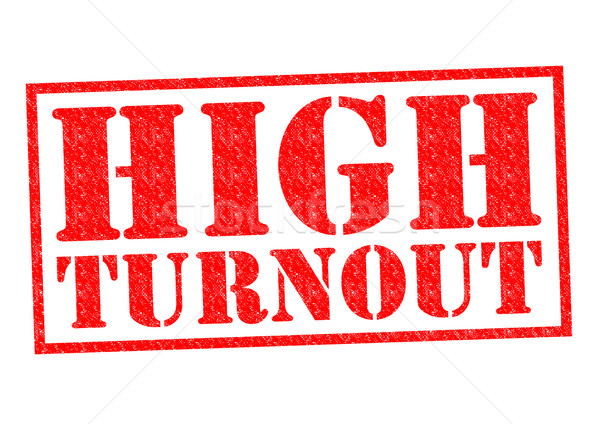 Stock photo: HIGH TURNOUT