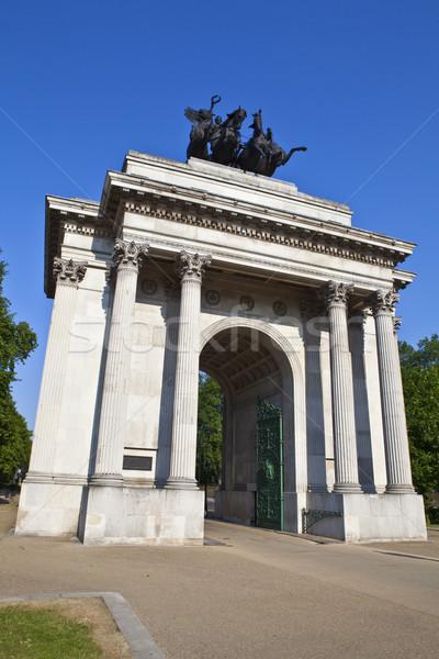 Wellington Arch in London Stock photo © chrisdorney