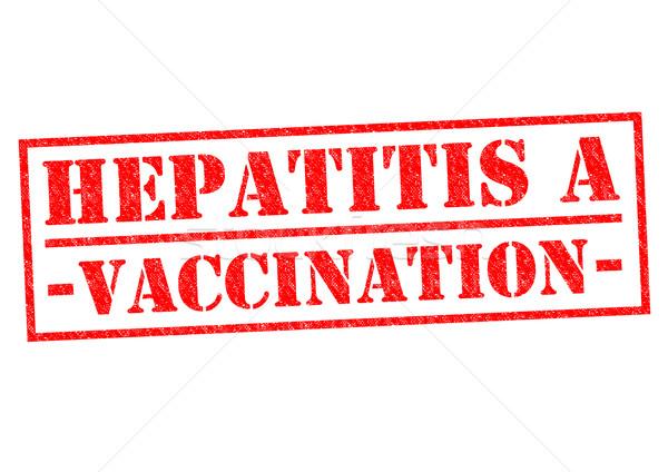 HEPATITIS A VACCINATION Stock photo © chrisdorney