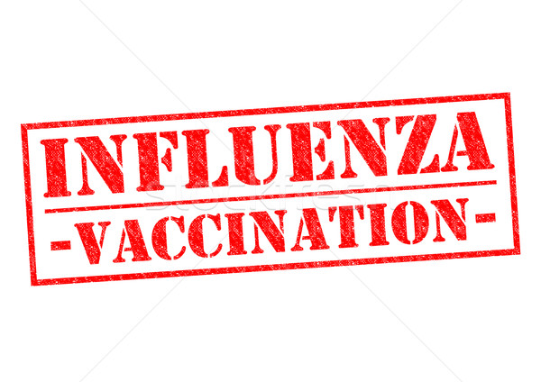 INFLUENZA VACCINATION Stock photo © chrisdorney