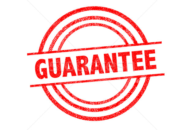 GUARANTEE Rubber Stamp Stock photo © chrisdorney