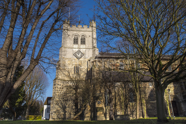 Waltham Abbey Church Stock photo © chrisdorney