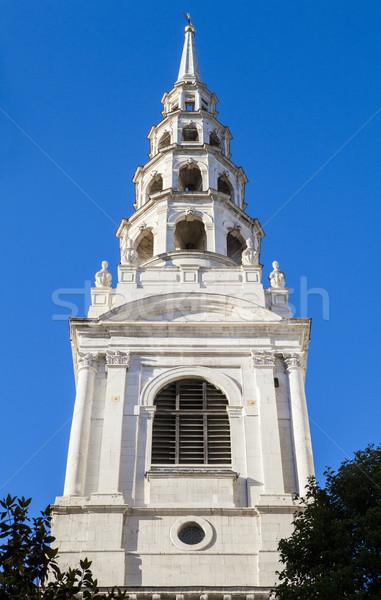 St. Brides Church in London Stock photo © chrisdorney