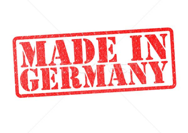Alemanha branco vermelho construir borracha Foto stock © chrisdorney