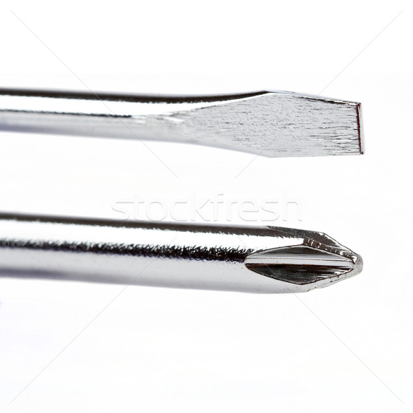 The Two Types of Screwdriver Heads Stock photo © chrisdorney