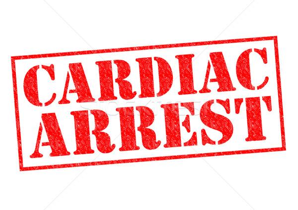 Aresztować czerwony biały medycznych krwi Zdjęcia stock © chrisdorney