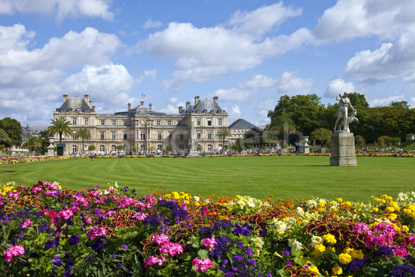 Luxembourg Palace in Jardin du Luxembourg in Paris Stock photo © chrisdorney
