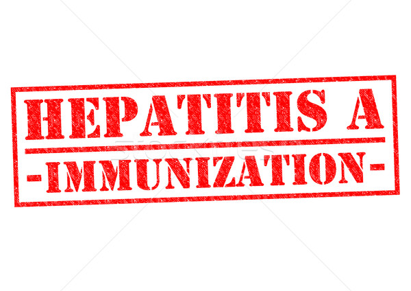 HEPATITIS A IMMUNIZATION Stock photo © chrisdorney