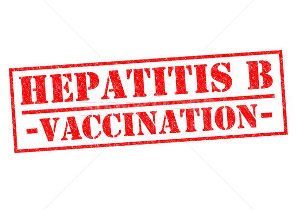 HEPATITIS B VACCINATION Stock photo © chrisdorney