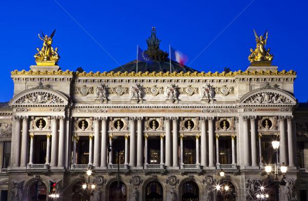 Palais Garnier in Paris Stock photo © chrisdorney