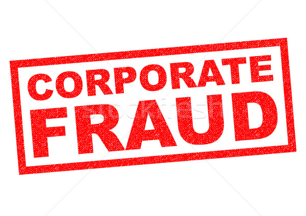 CORPORATE FRAUD Stock photo © chrisdorney