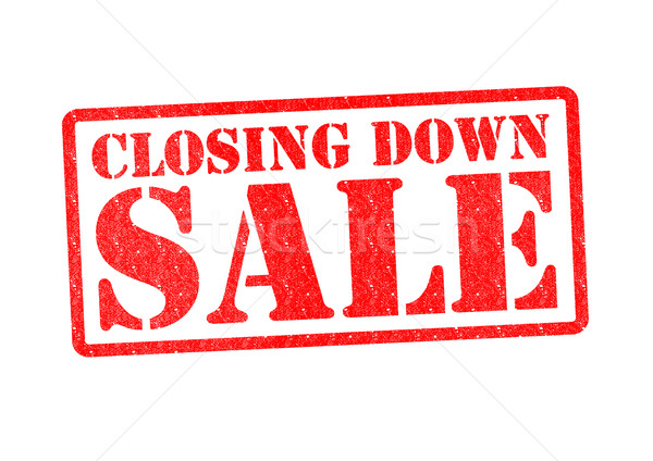 CLOSING DOWN SALE Stock photo © chrisdorney