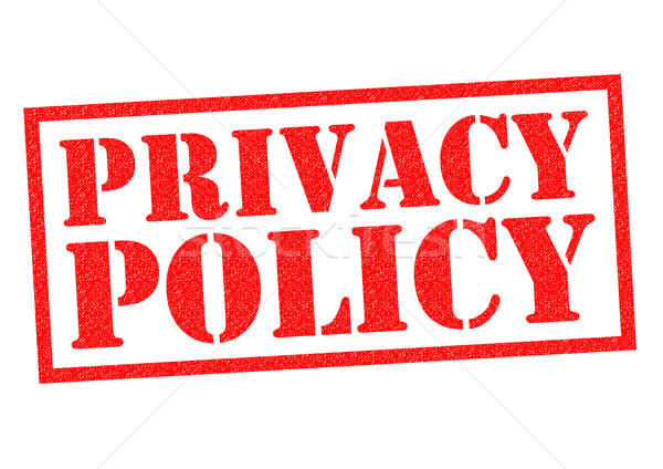 Privacy Rood witte informatie Stockfoto © chrisdorney