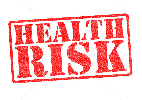 HEALTH RISK Rubber Stamp Stock photo © chrisdorney