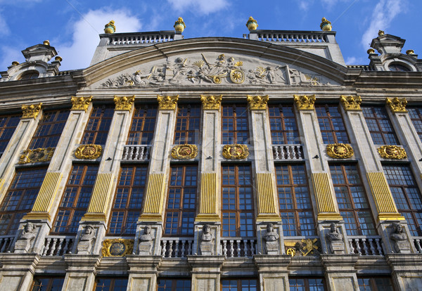 Historic Building on Grand Place in Brussels Stock photo © chrisdorney