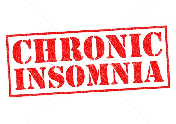 CHRONIC INSOMNIA Stock photo © chrisdorney