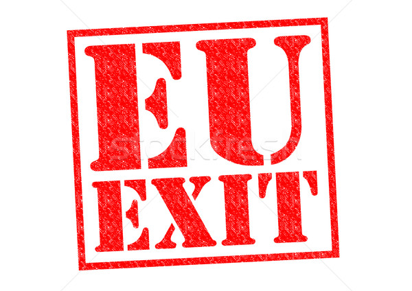 EU EXIT Stock photo © chrisdorney