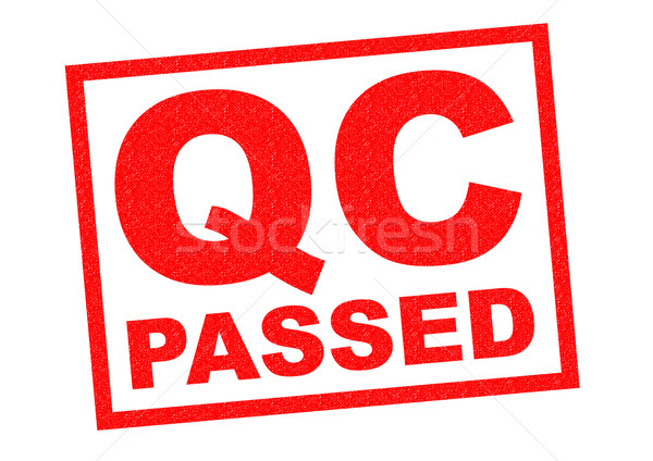 Stock photo: QC PASSED