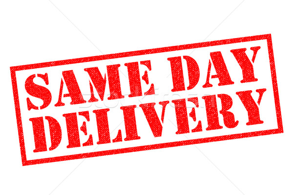 SAME DAY DELIVERY Stock photo © chrisdorney